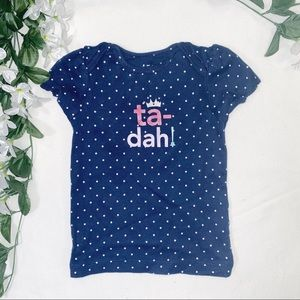 🧸5 FOR $20🧸CARTER'S Ta-dah graphic tee - 18M